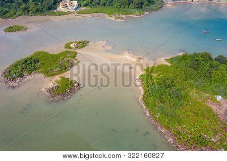 Aerial View Of Tso Wo Hang  Sai Kung, Hong Kong