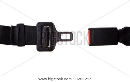 Seat Belt With Clipping Path