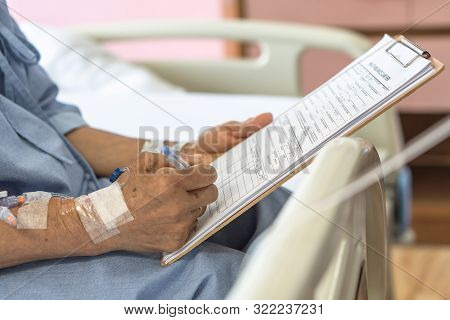 Health Insurance Claim Form Application For Medicare Coverage And Medical Treatment For Patient With