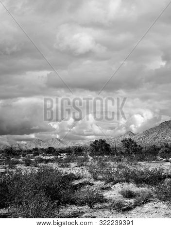Mountains In The Sonora Desert In Central Arizona Usa