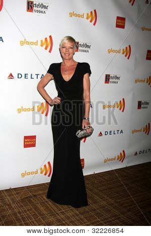 LOS ANGELES - APR 21:  Tabatha Coffey. arrives at the 23rd GLAAD Media Awards at Westin Bonaventure Hotel on April 21, 2012 in Los Angeles, CA