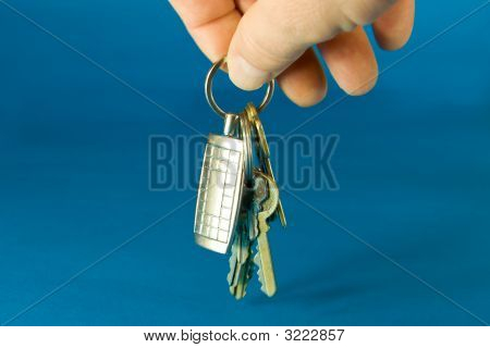 Bumch Of Keys On A Keyring