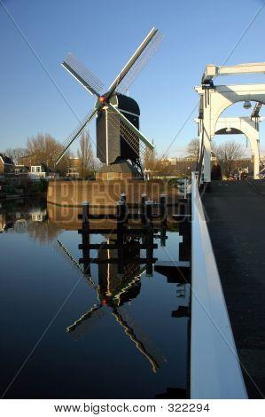 Windmill & Bridge