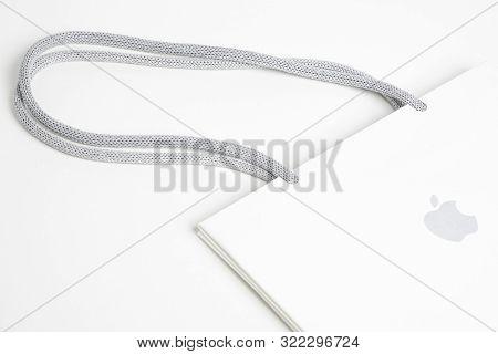 Apple Store White Paper Bag