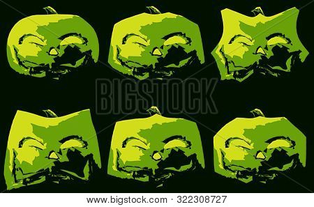 Seamless Halloween Wallpaper Background Theme Pattern Art