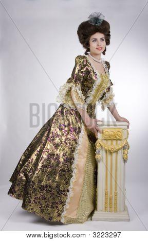 Elegant Baroque Woman