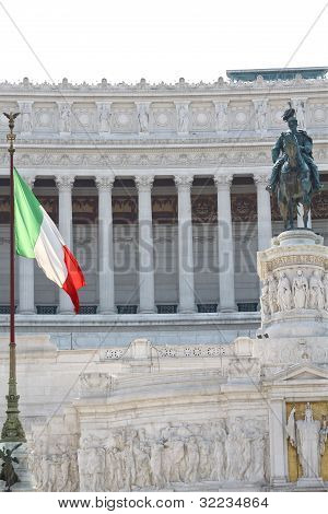 The National Monument to Victor Emmanuel II