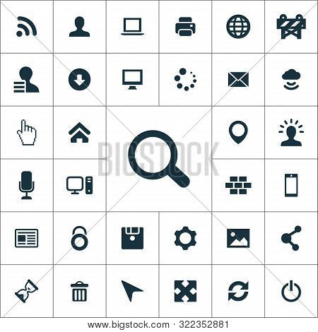 Webdesign Simple Icons Universal Set For Web
