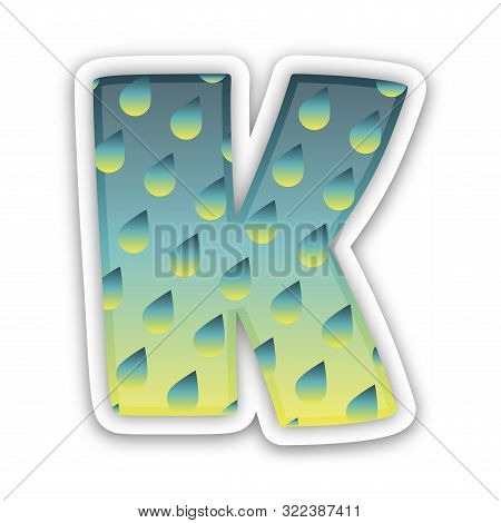 Exclusive Classic Typography K Letter And V Letter Combine Logo Emblem Monogram