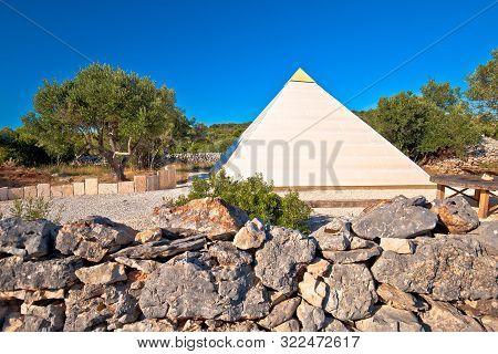 Pyramid Of Sali On Dugi Otok Island, Archipelago Of Dalmatia, Croatia