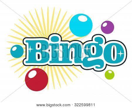 Bingo Players Club, Gambling Or Playing Casino, Isolated Icon