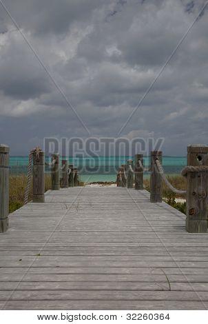 Walkway To Bight Beach