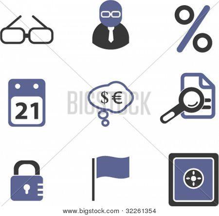 money signs. vector
