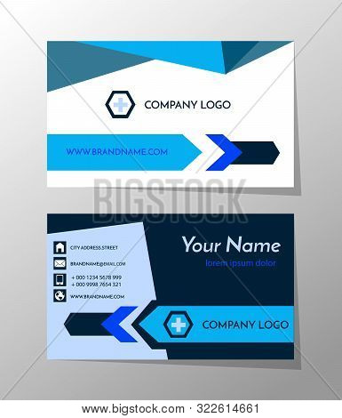 Creative And Professional Business Card Design, Clean Visiting Card, Contact Card And Name Card Desi