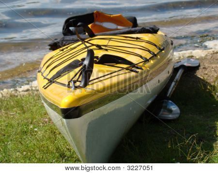 Kayak At Lake