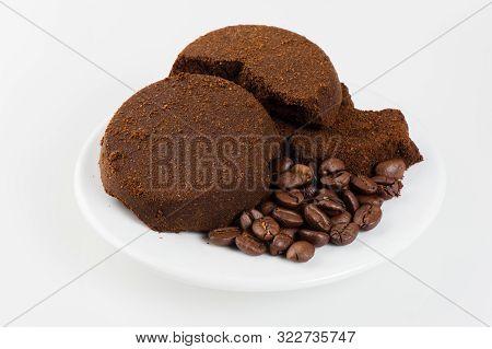 Closeup Coffee Ground