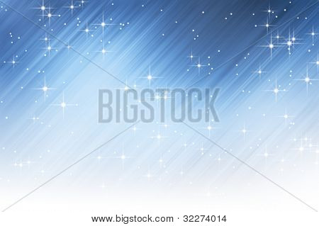Abstract starry background