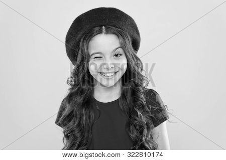 Emotional Expression. Girl Artistic Kid Practicing Acting Skill. Acting Academy. Playful Teen Model.