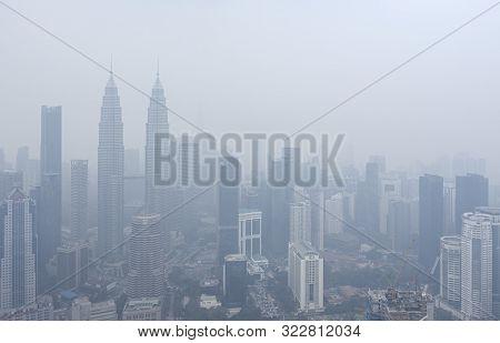 Kuala Lumpur In Haze