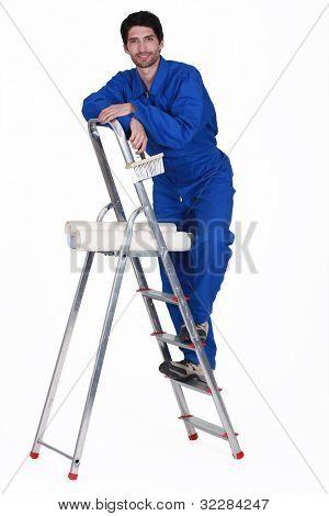 man paperhanger