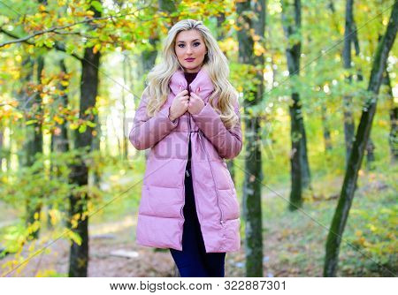 How To Rock Puffer Jacket Like Star. Puffer Fashion Concept. Outfit Prove Puffer Coat Can Look Styli