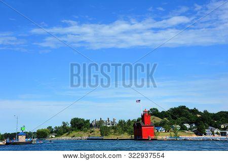Beautiful Holland Harbor Lighthouse