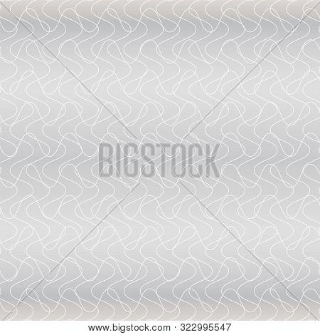 Gray Background With Intertwined Lines. Vector Modern Background For Posters, Brochures, Sites, Web,