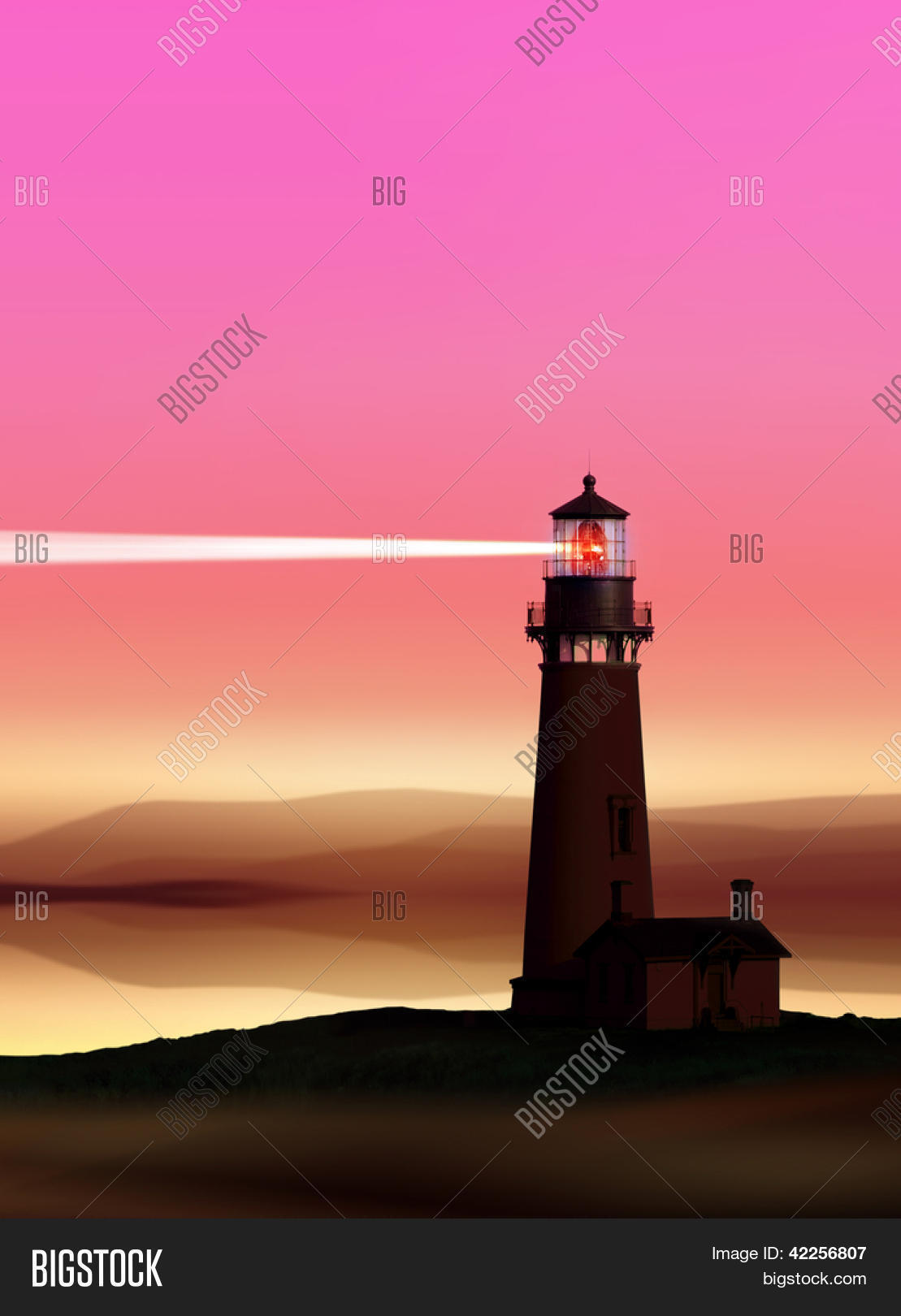 Romantic Lighthouse Image & Photo (Free Trial) | Bigstock