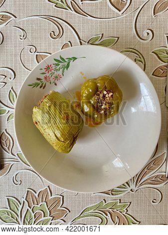 Dolma Traditional Azerbaijani Dish Is Widespread In The Cuisines Of Transcaucasia.