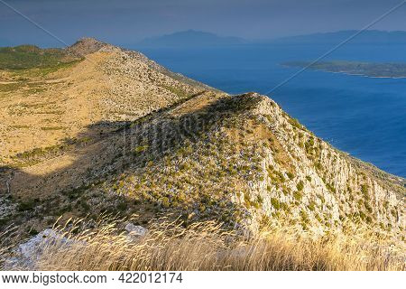 Sveti Nikola Highest Peak On The Island Of Hvar