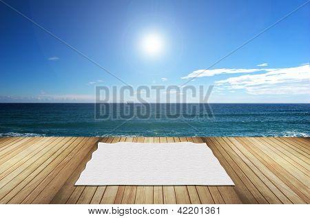 Terraza En El Mar
