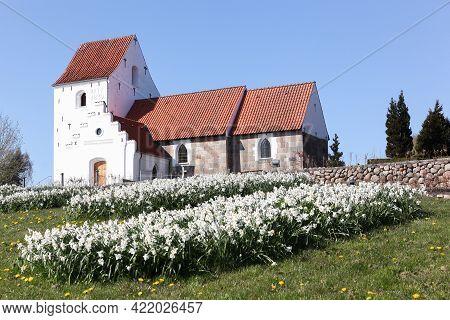 Hasle Church Is A Church Located In Hasle Parish In Aarhus, Denmark