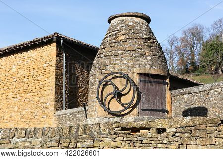 Water Well In The Village Of Charnay, Beaujolais, France