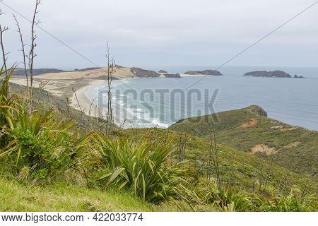 Impression At Te Werahi Beach In New Zealand