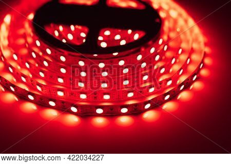 led strip red light roll
