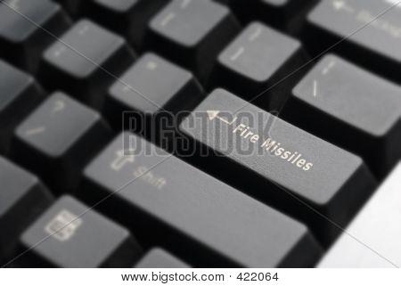 Fire Missiles Keyboard Detail