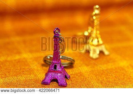Miniature Eiffel Tower . Souvenir From Paris . Eiffel Tower Statues Excellent Gift