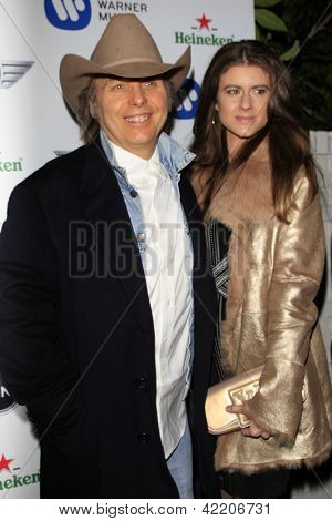 LOS ANGELES - FEB 10:  Dwight Yoakam arrives at the Warner Music Group post Grammy party at the Chateau Marmont  on February 10, 2013 in Los Angeles, CA..