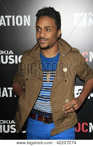 LOS ANGELES - FEB 9:  Kes arrives at the ROC NATION Annual Pre-Grammy Brunch at the Soho House on February 9, 2013 in West Hollywood, CA
