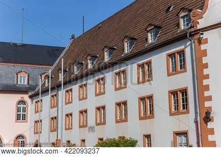 Historic Town Hall In The Center Of Mainz, Germany