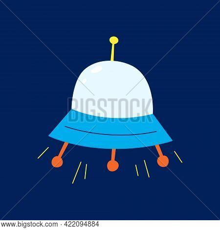 Ufo Flying Saucer. Suitable For Use On The Internet, In Print And In Promotional Materials.