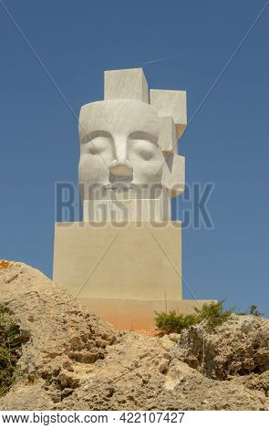 International Sculpture Park Of Ayia Napa On The Island Of Cyprus