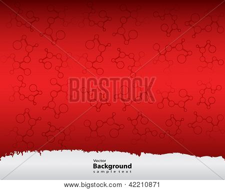 Abstract Molecules Medical Background With Special Design