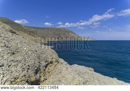 A Small Cove At The Southern End Of Cape Meganom. Crimea.