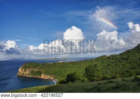Chatham Bay On Union Island, Saint Vincent And The Grenadines, Lesser Antilles, West Indies