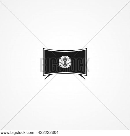 Smart Tv Simple Isolated Vector Icon. Smart Tv Simple Isolated Vector Icon. Smart Tv Simple Isolated