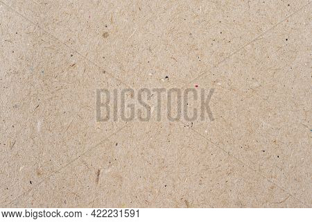 Old Vintage Eco Paper Texture Background, Recycled Material For Background Or Design, Macro View Wit