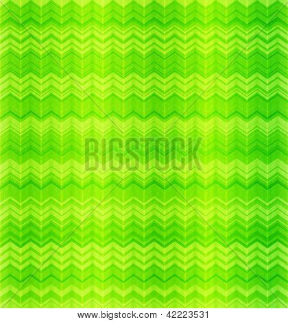 Green abstract zigzag textile seamless pattern. This is file of EPS10 format. poster