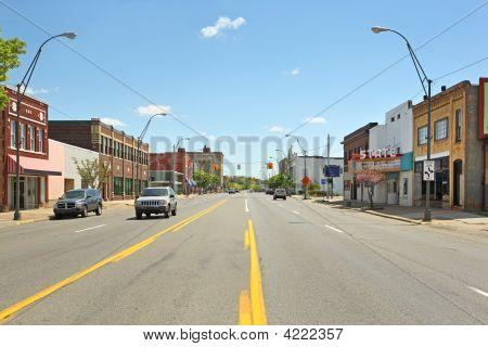 Downtown Benton Harbor Michigan