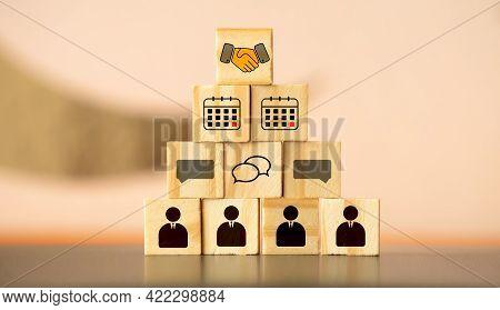 Commitment Settlement Business Concept. Commit Conclusion Deal